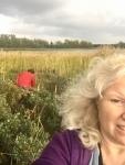Liisa selfie puoli naamaa