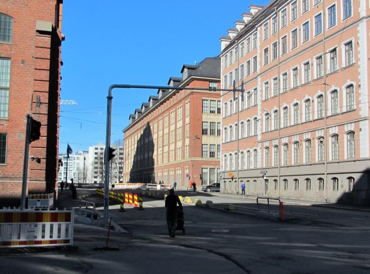 Telakkakadun vanhat teollisuusrakennukset
