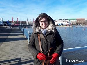 Uunisaari Liisa laiturilla