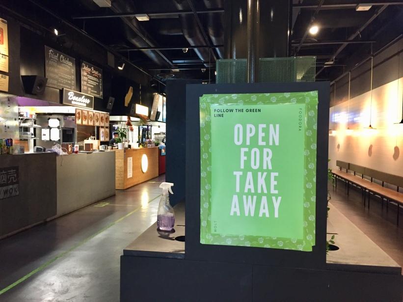 Kamppi vihreä open for take away